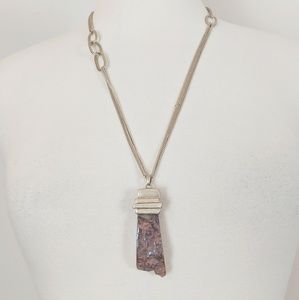Kenneth Cole Jewelry -   Sale  Kenneth Cole • Stone Pendant Necklace